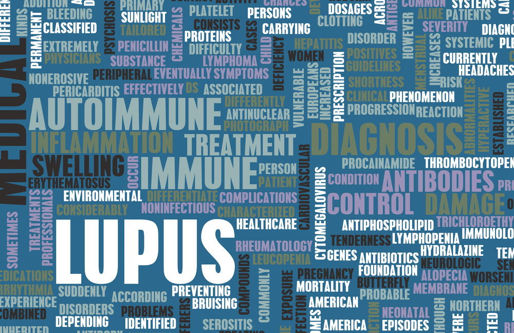 Words representative of lupus and it's symptoms