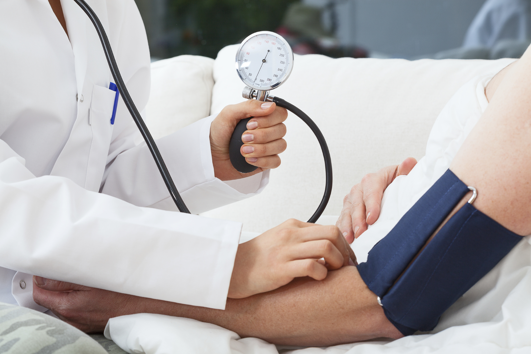 Woman with hypertension at risk for renal impairment